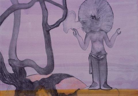 生島 国宜 個展 「行列と乞食」