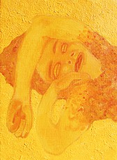 山川順子 個展「山吹色、日々の群像」