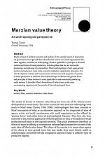 須崎読書会「第二回マルクスと人類学」Terrence Turner 'Marxian Value Theory, an anthropological perspective'を読む