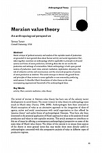 須崎読書会「第三回マルクスと人類学」Terrence Turner 'Marxian Value Theory, an anthropological perspective'を読む
