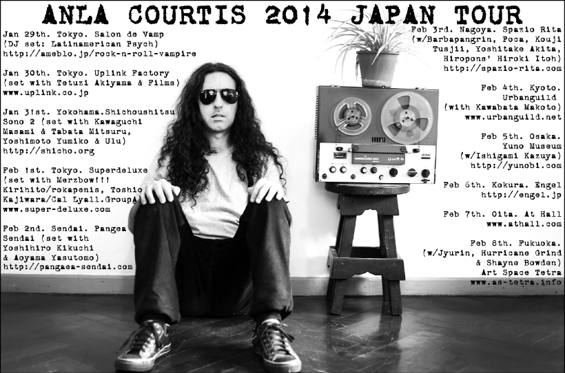 ANLA COURTIS 2014 JAPAN TOUR